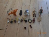 Stars Wars authentic lego minifigures and models many are collectables £60
