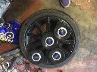 Fiesta st150 wheels