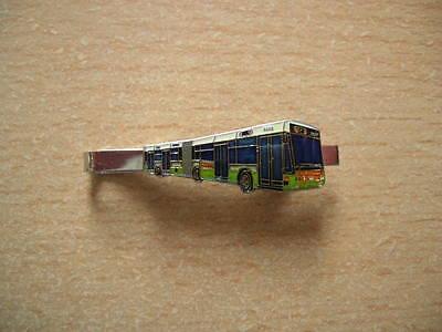 Gebraucht, Krawattenklammer Bus Breda M 321 grün/silber/weiß Art. 8245 Bus Cravat Clip gebraucht kaufen  Neckarsulm