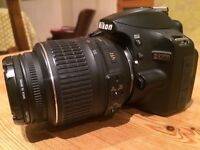 Nikon D3200 Digital SLR Camera with 18-55mm VR Lens Kit - Black (24.2MP)