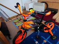 """Kids' 14"""" Bike with removable stabilisers"""