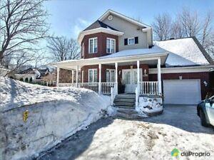 400 000$ - Maison 2 étages à vendre à Terrebonne (Lachenaie)