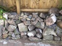 LOCAL STONE FOR WALLS OR ROCKERY - FREE TO COLLECT