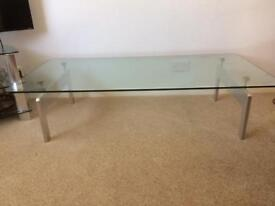 GLASS COFFEE TABLE (was £75)