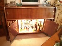 Fab RETRO 1960s/1970s COCKTAIL CABINET unit, with radiogram and record player. Grab a £45 Bargain!!!