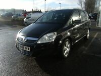 2008 08 VAUXHALL ZAFIRA 1.6 EXCLUSIV 5D 105 BHP***GUARANTEED FINANCE***PART EX WELCOME***