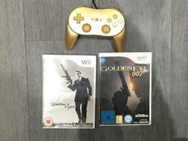 Nintendo Wii James Bond pack