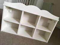6 cube storage shelf