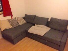 ** IKEA CORNER SOFA BED **