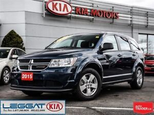 2015 Dodge Journey Canada Value Pkg - Push Button, Keyless, Blue