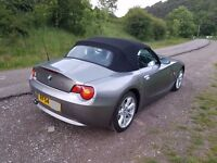 54 BMW Z4 2.5i SE Roadster * New Roof motor fitted * HPI clear FS/History *