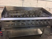 Hobart Bonnet 10 Burner Chargrill 1.5m with Stand