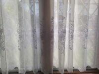 vintage net curtains