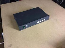 VS-421 Kramer Video/Audio switch. RRP £274 (ccvt)