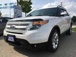 2015 Ford Explorer Limited|4x4|Leather|Dual Sunroof|Navi