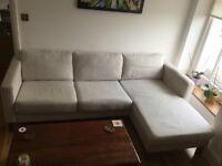 Ikea corner sofa £270 - RRP £800