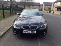 £5995 ONE DAY ONLY BARGAIN BMW 3 Series 335d M Sport Coupe Automatic Diesel 3.0 Black
