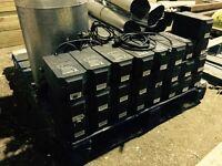 Hydroponics 600watt grow light kits/carbon filters/nutrients/pots