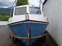 Romany 21 fishing boat project
