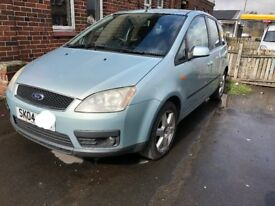 BREAKING* FORD FOCUS C-MAX ZETEC 2.0 TDCi 136BHP 2004 TONIC