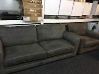 New/Ex Display Dfs Large 3 Seater + 1 Seater Sofas