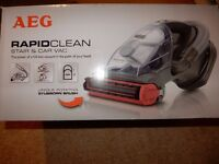 vacuum cleaner - AEG Rapid Clean 'Stair & Car' Vac - Only used a couple of times