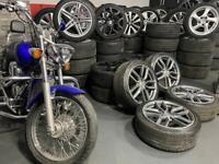 "18"" inch genuine Audi s3 alloys wheels 5x112 a3 Vw golf caddy s line rs3"