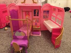 Barbie playset