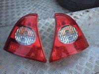 2001 Renault Clio rear lights