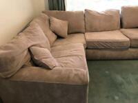 Large comfortable corner sofa