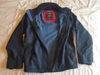 Hollister - All Weather Jacket - Mens Small - Navy Blue