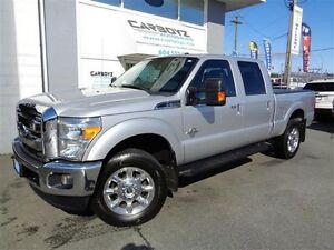 2015 Ford F-350 Lariat Crew 4x4, Diesel, Nav, Sunroof, One Owner
