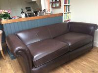 John Lewis Sofa Vintage Chesterfield Style