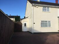 2 Bedroom end terrance house to rent in Hartcliffe BS13 at the bottom of Dundry Slopes
