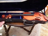 Childs violin and case