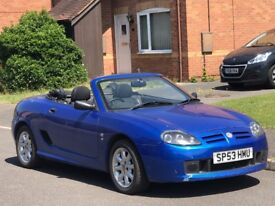 2003 53 MG MG TF Long MOT..Low miles 59k..Cabriolet