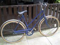 Vintage 1950/60 Bicycle Bike Hercules 3 Speed