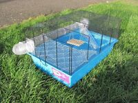 Hamster Cage and roller ball