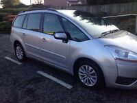 Citroen c4 grand piccaso 1.6 diesel 7 seater