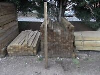Fence Post 75mmx75mmx1.8m