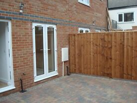 For rent ,Brand New 3 Bed/3 Storey/2 bath House /Large private Garden/2 Car Spaces £165 pw