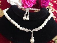 Classic Indian Bollywood Pearl Jewellry(new)