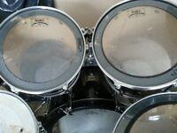 5 peice mapex Mars pro series drum kit + zildjian symbols & hardware
