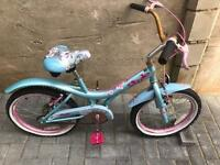 "Silver fox girls bike 18"" wheels only £5 spares or repairs"
