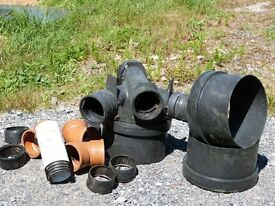 Selection of drainage components surplus from new extension