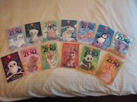 Zoe's Rescue Zoo Collection - 13 Books