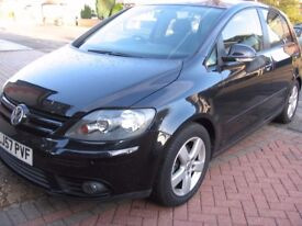golf plus 1.4 se 57-reg superb condition with fsh like cmax scenic picasso