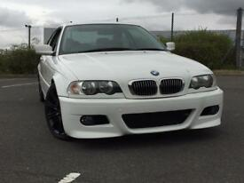 Bmw e46 318ci original alpine white full mot