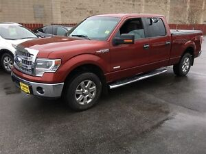 2014 Ford F-150 XLT, Crew Cab,Back Up Cam,4x4,