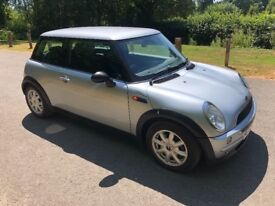 Mini One. Impeccable service history and just been serviced. Feb MOT. Absolutely immaculate.